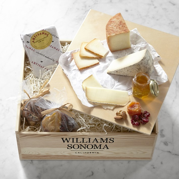 Taste of Europe Cheese Gift Crate photo