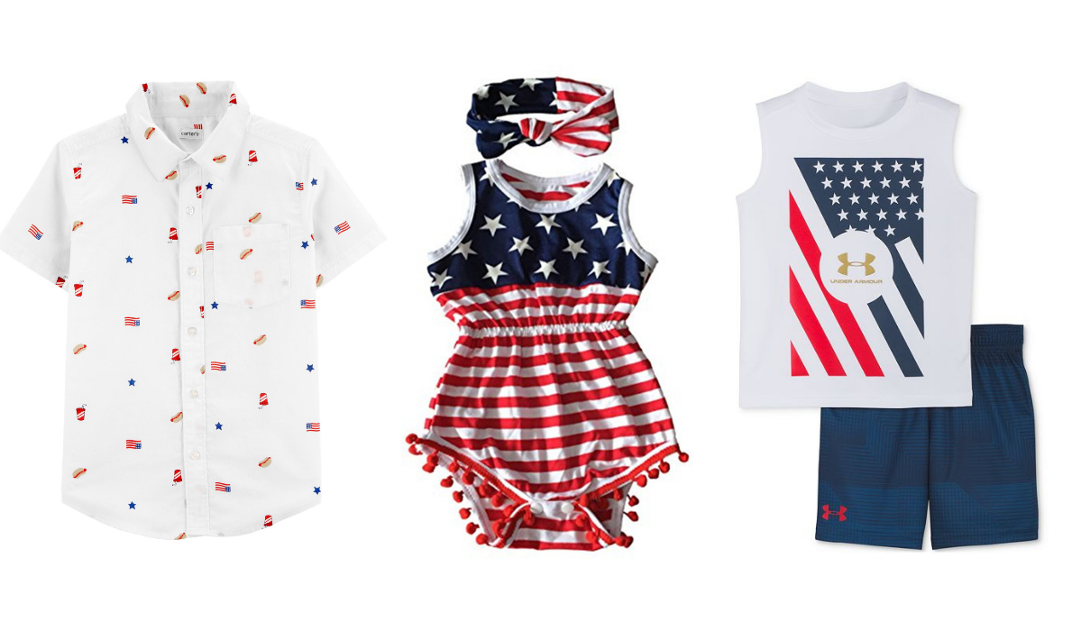 07571ce36c Stylish Star-Spangled Fourth of July Outfits for Kids of All Ages
