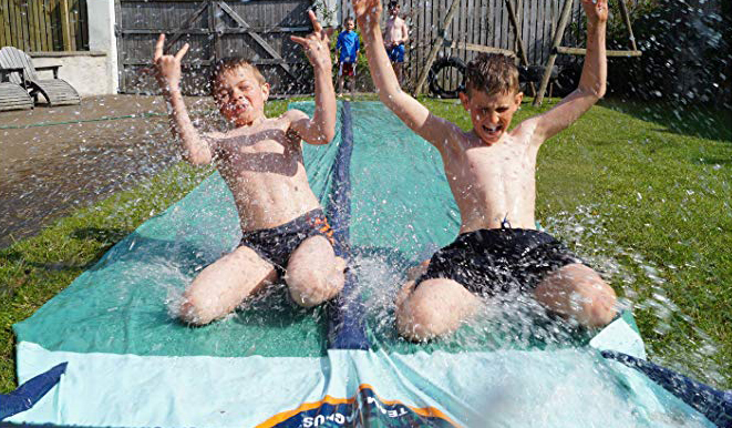 8 Amazing Backyard Slip N' Slides