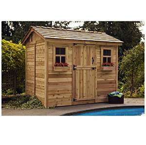 Outdoor Living Today Cabana 9 x 6 ft Garden Shed photo