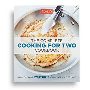 The Complete Cooking for Two Cookbook by America's Test Kitchen photo