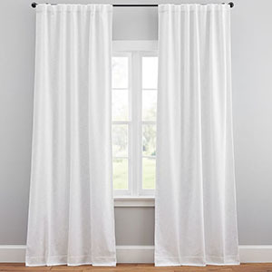 Pottery Barn Seaton Textured Blackout Curtains photo