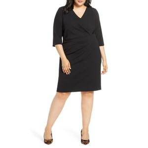 Black size-inclusive sheath dress from Nordstrom photo