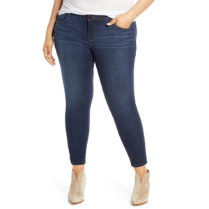 Size-Inclusive ankle-length skinny jeans from Nordstrom photo