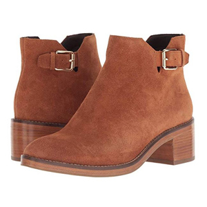 Brown Cole Haan booties from Zappos photo