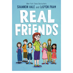 Real Friends by Shannon Hale photo