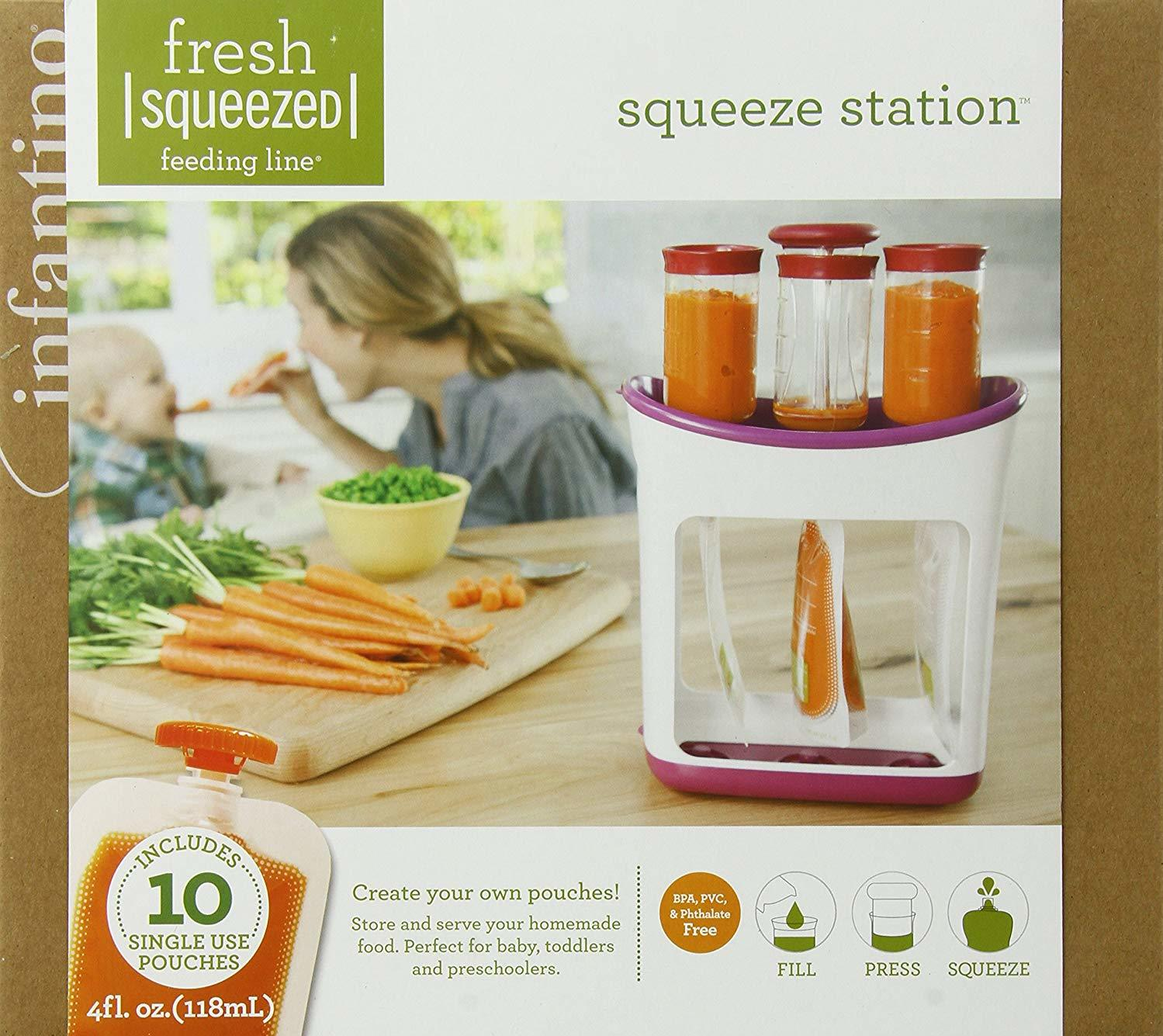Infantino Squeeze Station Baby Food Maker photo