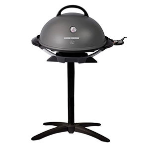 Gray and black electric grill by George Foreman photo