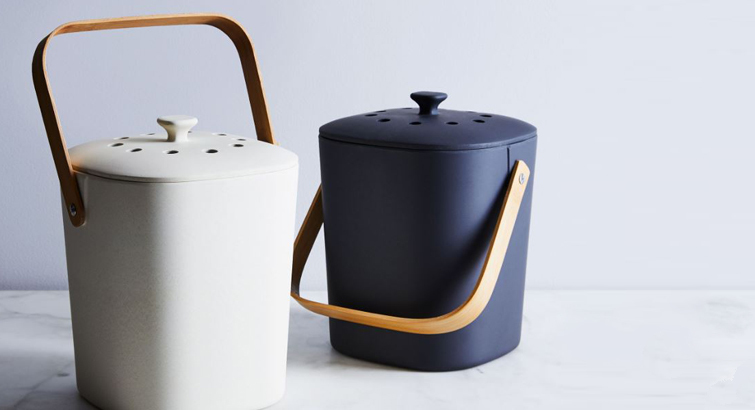 This Compost Bin Is Shockingly Affordable and Looks Good in Your Kitchen — Seriously
