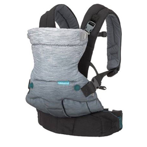Gray and charcoal baby carrier from Walmart photo