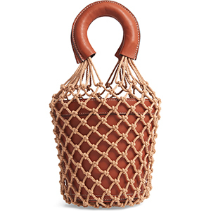 Indie style caged bucket bag from Nordstrom photo