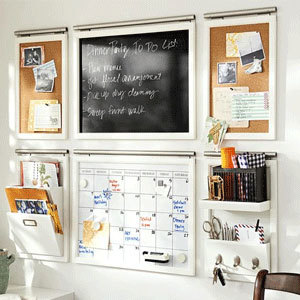 A calendar set and other organizational tools from Pottery Barn photo