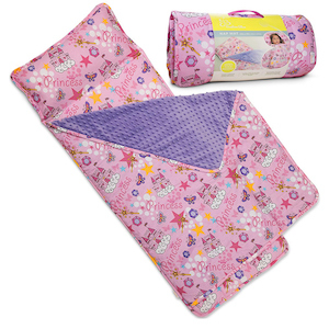 Bambino Bliss Kids Nap Mat with Removable Pillow photo