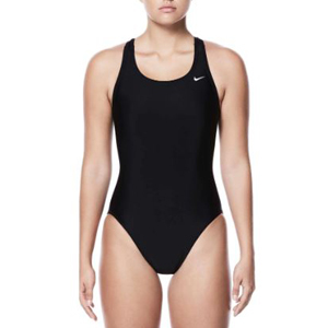 Black Nike one-piece swimsuit from Dick's Sporting Goods photo