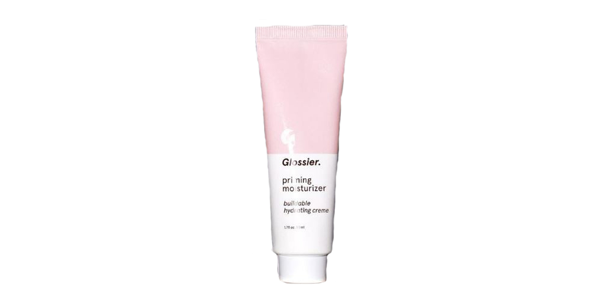 Small tube of priming moisturizer from Glossier photo
