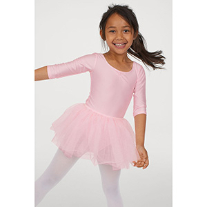 H&M Leotard with Tulle Skirt photo