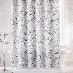 Botanical shower curtain from Crate and Barrel photo