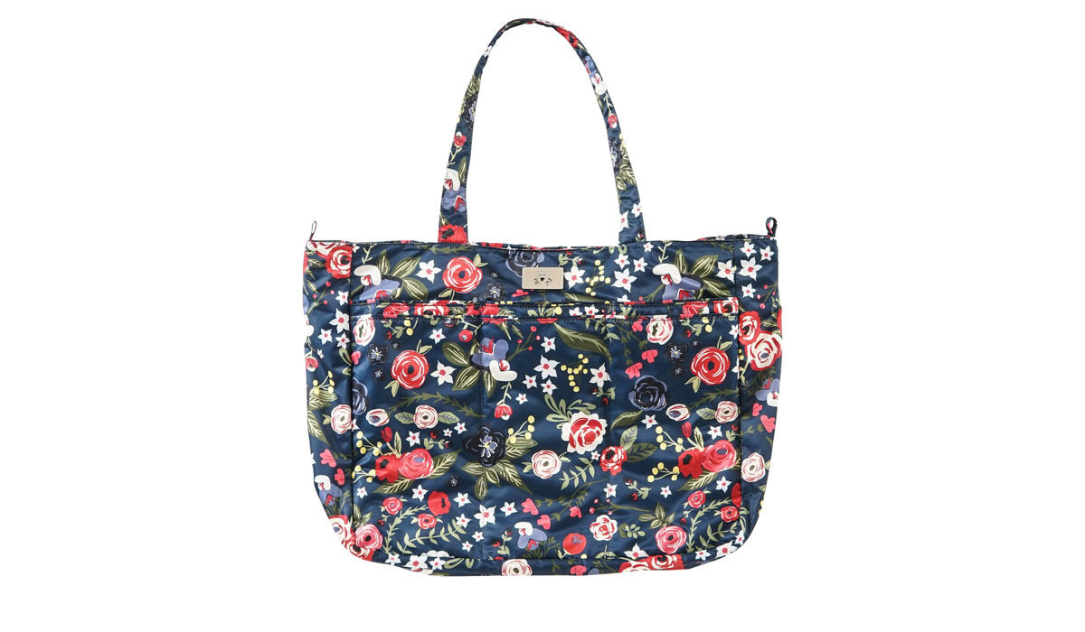 Floral print Super Be tote by JuJuBe from Walmart photo
