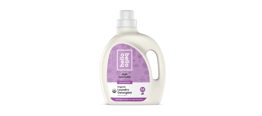Hello Bello Organic Laundry Detergent in lavender scent from Walmart photo