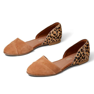 Leopard print flats by TOMS photo