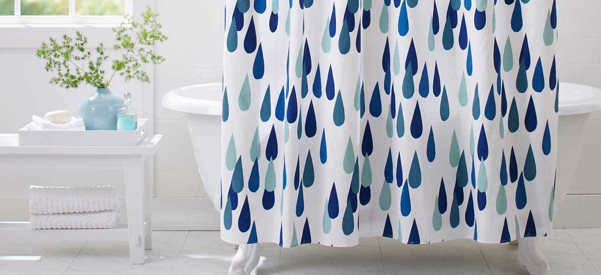 Stylish Shower Curtains to Perk Up Your Bathroom for Less Than $80