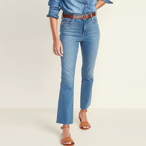 Cropped flare jeans from Old Navy photo