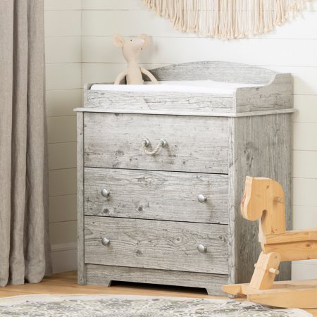 South Shore Aviron Changing Table with Drawers photo