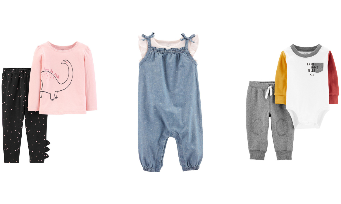The Cutest Matching Outfits For Your Little One From Carter's