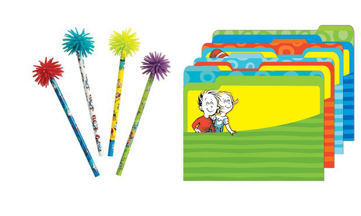 Best Dr. Seuss Themed School Supplies for Kids