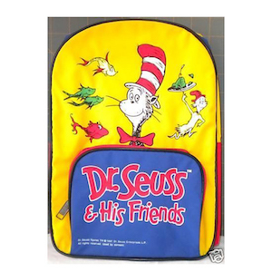 Seuss and Friends Toddler Backpack photo