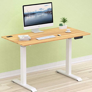 Electric adjustable computer desk from Amazon photo