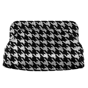 Nina metallic houndstooth clutch bag from Nordstrom photo
