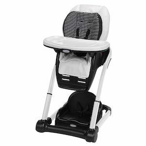 Graco Blossom 6-in-1 Convertible High Chair, Raleigh photo