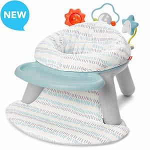 Skip Hop Silver Lining Cloud 2-in-1 Sit-up Chair & Activity Seat photo