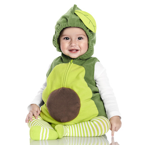 Carter's Little Avocado Halloween Costume photo