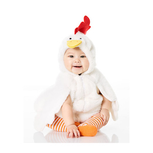 Carter's Little Chicken Halloween Costume photo