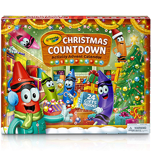 Crayola Christmas Countdown Advent Calendar photo