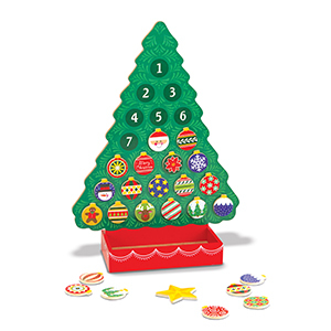 Melissa & Doug Countdown to Christmas Advent Calendar photo