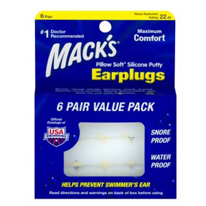 A pack of six silicone earplugs from Walmart photo