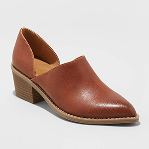 Universal Thread Women's Rylie Faux-Leather Open Bootie photo