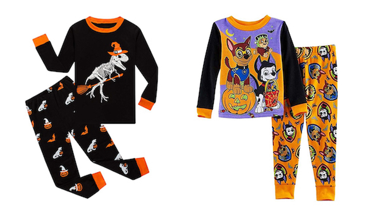 Super Sweet Halloween Pajama Sets for Kids of All Ages