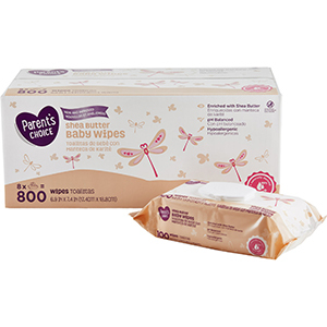 Parent's Choice Shea Butter Baby Wipes photo