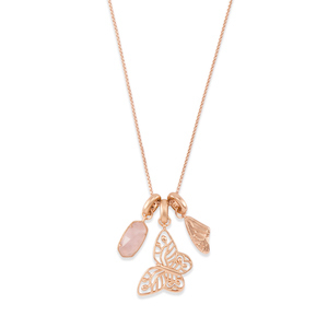 Kendra Scott Metastatic Breast Cancer Necklace Charm Set photo