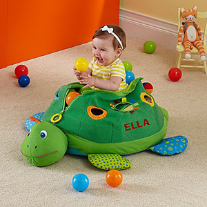 Personalized Melissa and Doug Turtle Ball Pit photo