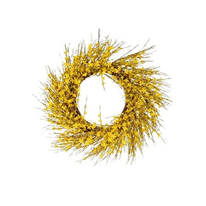 Wreath with yellow flowers from Houzz photo