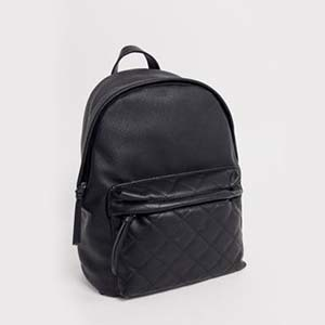 Black backpack from ASOS photo