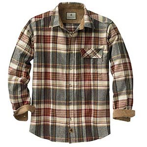 Men's flannel shirt from Amazon photo