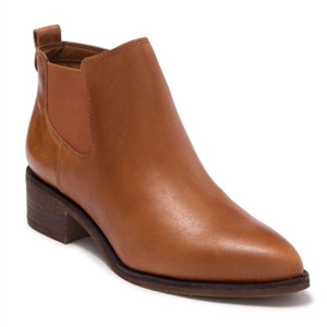 Brown leather Chelsea boots from Nordstrom Rack photo