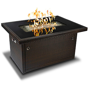 Propane gas fire pit table from Amazon photo