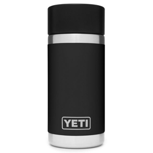 Black and silver Yeti Rambler bottle from L.L. Bean photo